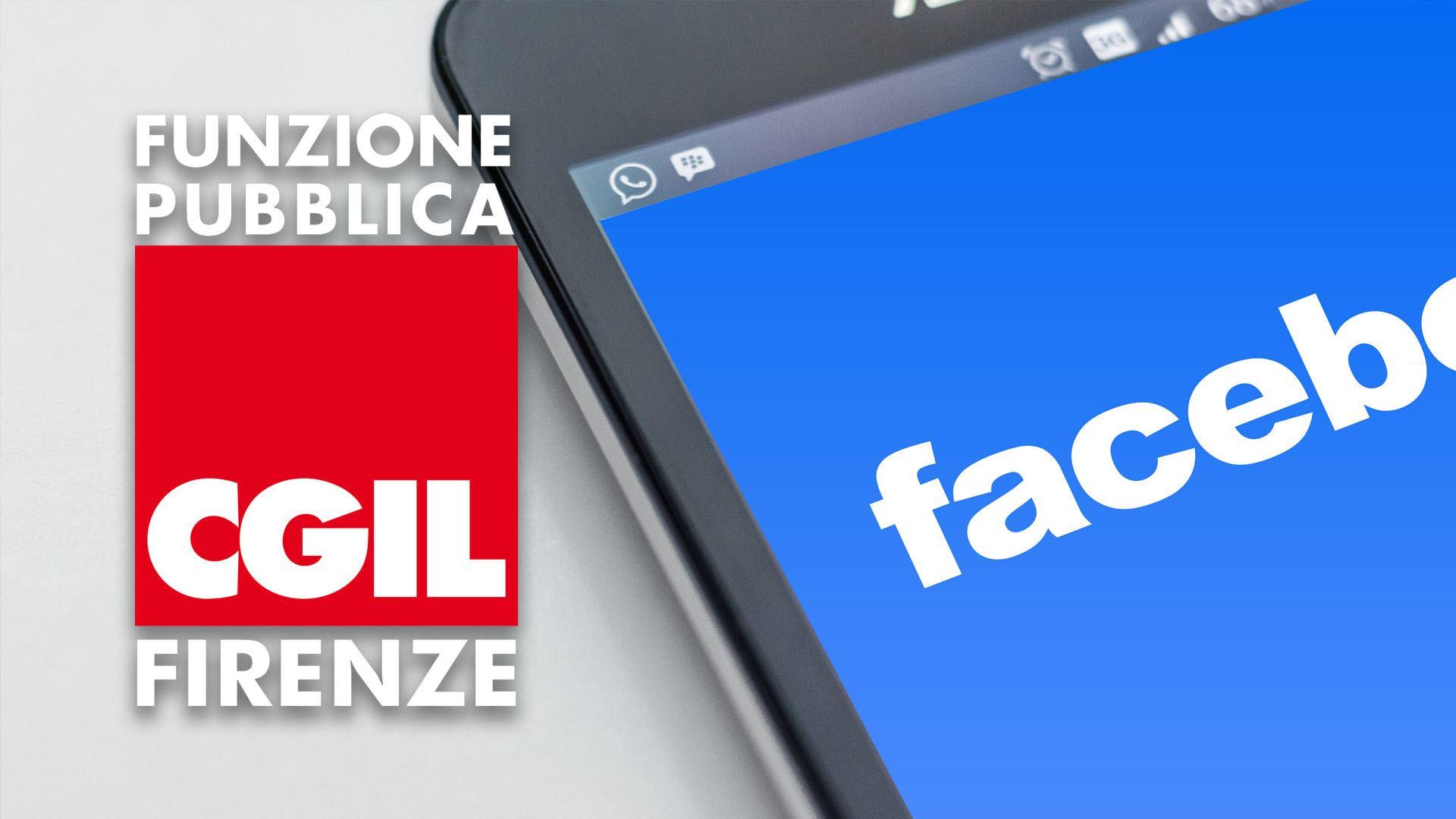 Pagina Facebook FP CGIL Firenze