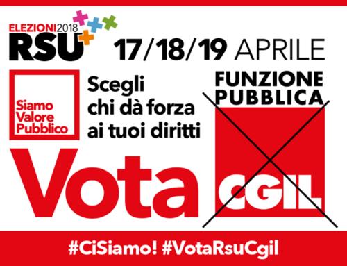 Dal 17 al 19 aprile Elezioni RSU dei lavoratori pubblici