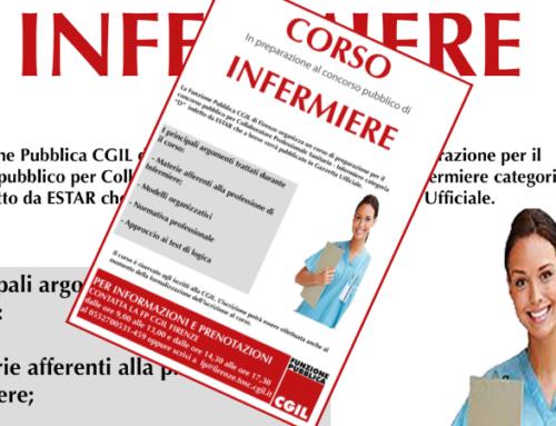 Corso di formazione in preparazione del concorso di Collaboratore Professionale Sanitario – Infermiere indetto da Estar