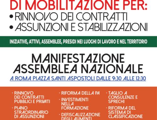 #FuturoAlLavoro, la nostra settimana di mobilitazione Cgil Cisl Uil