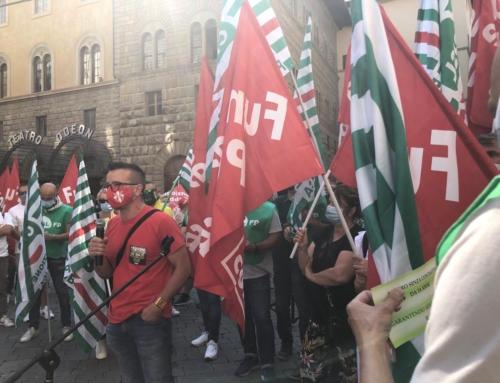 Sanità privata, sciopero e presidio a Firenze