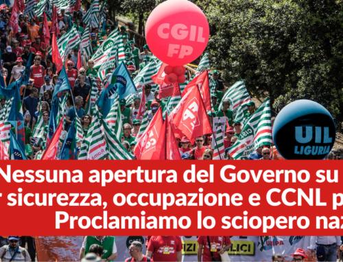 Contratti. Cgil, Cisl, Uil Pa. Nessuna apertura del Governo su risorse per sicurezza, occupazione e CCNL pubblici. Proclamiamo lo sciopero nazionale