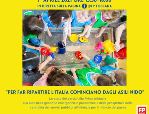 Per far ripartire l'Italia cominciamo dagli Asili nido: 1 aprile iniziativa sui servizi alla prima infanzia