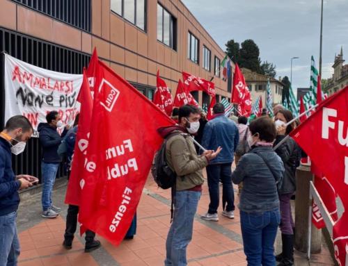 Cooperativa Elleuno – Rsa Villa Solaria, sciopero e presidio a Sesto Fiorentino