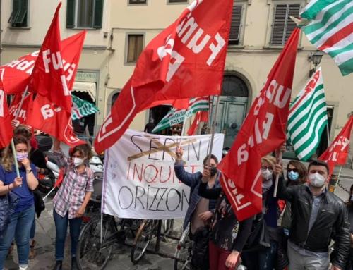 Rsa Sereni Orizzonti, sciopero con presidio a Firenze